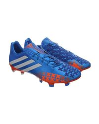 Adidas Predator Lz Trx Fg 1 Paar Neu Men's Football Boots In Blue for men