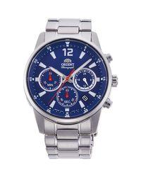 Reloj analógico UR - RA-KV0002L10B RA-KV0002L10B RA-KV0002L10B Orient de hombre de color Blue