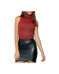 Infinie Passion | Sleeveless Top 00w060165 Women's Vest Top In Red | Lyst