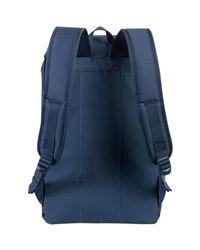 Herschel Supply Co. Men's Iona Logo Backpack, Blue Men's Backpack In Blue for men