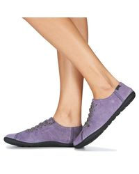 Camper Lage Sneakers Peu Cami in het Purple