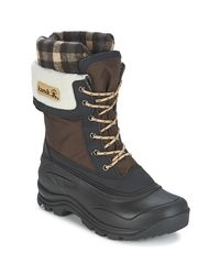 Kamik | Sugarloaf Women's Snow Boots In Brown | Lyst