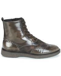 Geox D Prestyn Women's Mid Boots In Brown