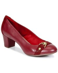 Hush Puppies - Camilla Imagery Women's Court Shoes In Red - Lyst