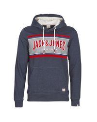 JORLONELY hommes Sweat-shirt en bleu Jack & Jones pour homme en coloris Blue