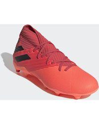 Chaussures de foot Chaussure Nemeziz 19.3 Terrain souple Adidas pour homme en coloris Red