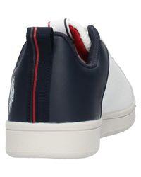 U.s. polo assn. - Sneaker bianco/blu GRAYSON B/B Baskets U.S. POLO ASSN. pour homme en coloris Blue