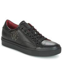 Roberto Cavalli Binero Men's Shoes (trainers) In Black for men