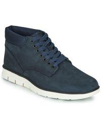 Timberland Hoge Sneakers Bradstreet Chukka Leather in het Blue voor heren
