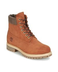 Timberland 6 Men's Mid Boots In Brown for men