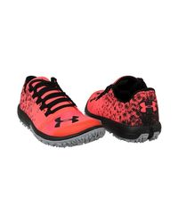Under Armour Ua Speed Tire Ascent Low Men's Shoes (trainers) In Red for men