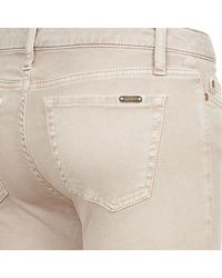 Acquaverde - Natural Scarlett Women's Cropped Trousers In Beige - Lyst