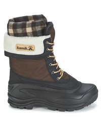 Kamik   Sugarloaf Women's Snow Boots In Brown   Lyst