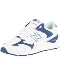 Pour des hommes X-90 Baskets en cuir, blanc hommes Baskets en blanc New Balance pour homme en coloris White