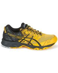Asics Gel-sonoma 3 Goretex Men's Running Trainers In Yellow for men