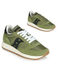 Saucony Lage Sneakers Jazz Original Vintage in het Green