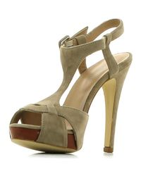 Carmens Padova Gray A33152 006 High Heeled Sandals Women Stone Women's Sandals In Grey