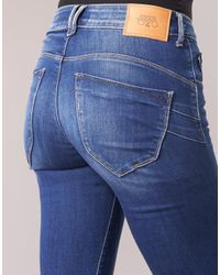 Le Temps Des Cerises Blue Slim Fit Jeans PULP