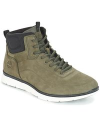 Timberland Green Killington No Sew Chk Shoes (high-top Trainers) for men