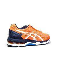 Asics Gelkayano 23 Gs Women's Running Trainers In Orange