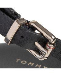 FW0FW04840 CORPORATE Sandales Tommy Hilfiger en coloris Black