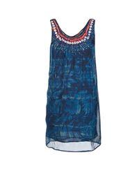Desigual Liorise Women's Dress In Blue