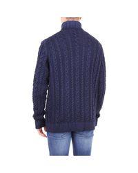 125607 Pull Jeordie's pour homme en coloris Blue