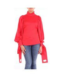 Self-Portrait Red Pullover SP19030R Pullover Damen rot