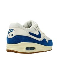 Nike - Wmns Air Max 1 Essential Women's Shoes (trainers) In Blue - Lyst