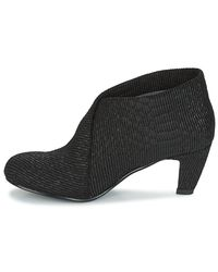 United Nude - Fold Mid Python Women's Low Boots In Black - Lyst