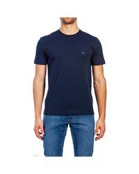 K10K103076 COTTON LOGO di Calvin Klein in Blue da Uomo