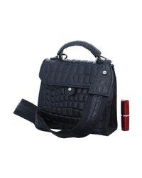 Liebeskind Glendale Croco Women's Handbags In Black