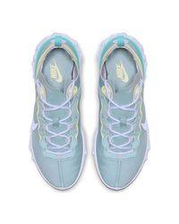 React Element femmes Chaussures en bleu Nike en coloris Blue