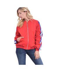 Nikita Brown Red Stripes Jacket