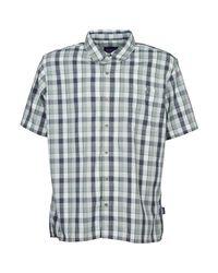 Patagonia Gray Puckerware Shirt Men's Short Sleeved Shirt In Grey for men