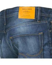 Jack & Jones - Mike Men's Jeans In Blue for Men - Lyst