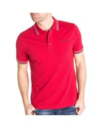 Polo 37357 Teddy Smith pour homme en coloris Red