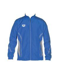 Arena Trainingsbroek Tl Warm Up Jacket in het Blue