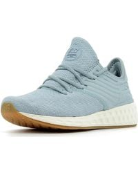 New Balance Lage Sneakers Fresh Foam Cruz Decon Women in het Blue