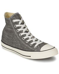 Converse Gray Ct Good Wash Hi Men's Shoes (high-top Trainers) In Grey for men