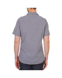 Chevignon Meryl Men's Short Sleeved Shirt In Blue for men