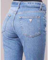 Guess Korte Broek The It Girl Skinny Belt in het Blue