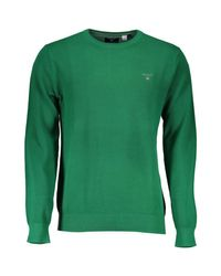 1701.080021 hommes Pull en vert Gant pour homme en coloris Green