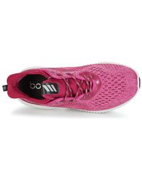 Adidas Alphabounce Em W Women's Running Trainers In Pink