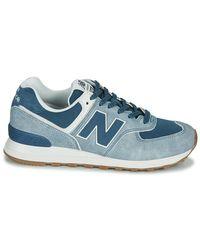New Balance Lage Sneakers 574 in het Blue