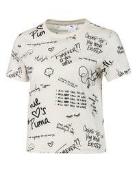 PUMA Multicolor T-Shirt Sport x SUE TSAI All Over Print 595259-55