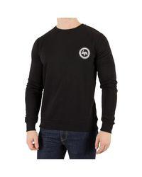 Hype Men's Crest Sweatshirt, Black Men's Sweater In Black for men
