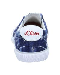 S.oliver - Blue 554410720803 Women's Shoes (trainers) In Multicolour - Lyst