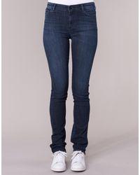 Armani Jeans Straight Jeans Houkiti in het Blue