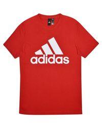 Adidas Essential Linear T Shirt Mens Men